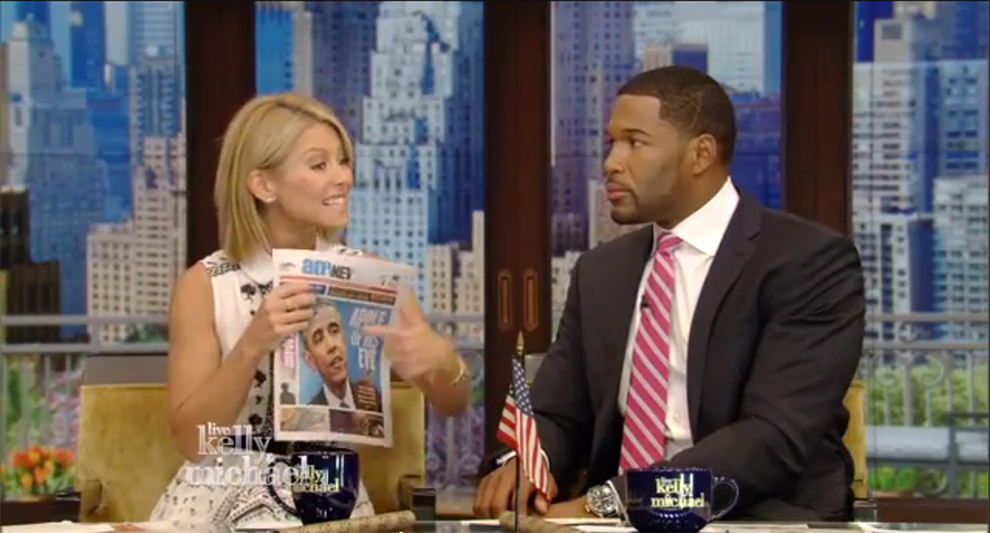 amNewYork on Live with Kelly & Michael