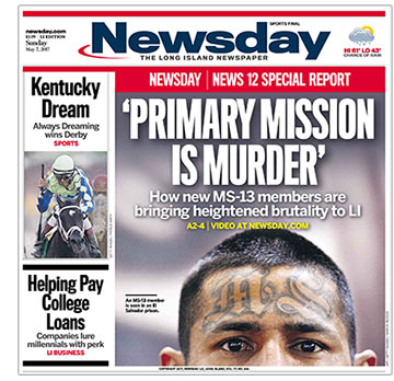 MS On Long Island What We Know About The Gang Newsday - M13 gang us map