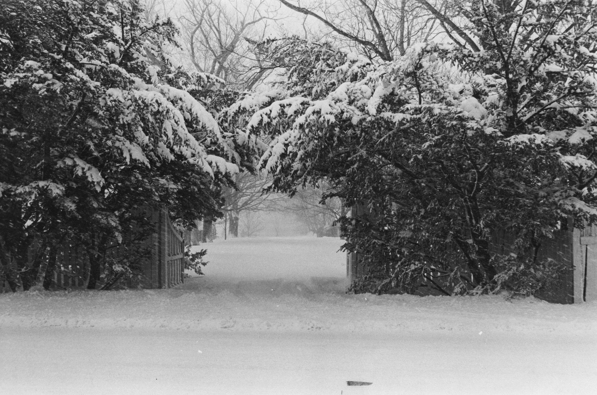 The snowiest March was in 1967, with 23.3 inches