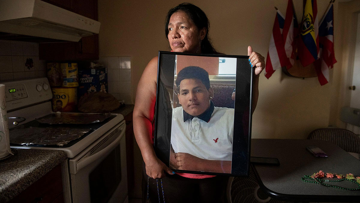 Mother searches MS-13's 'killing fields'