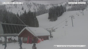 view of conditions at Midway (5,270 FT.)
