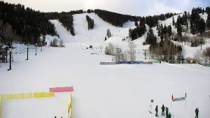 view of conditions at Snow Park