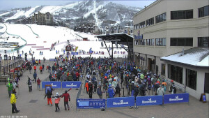 view of conditions at Gondola Square Cam