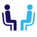 One-on-one Consultation Icon