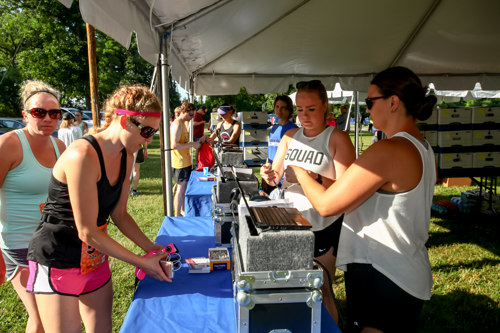 Packet Pickup Location