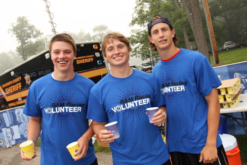 Volunteering at Bigfoot Trail Run