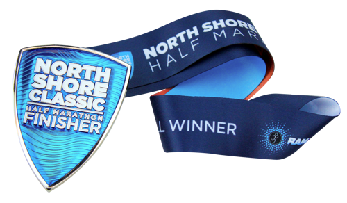 North Shore Classic's 2020 Finisher Medal