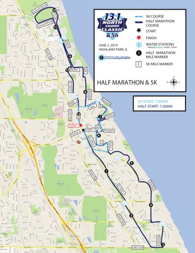 North Shore Classic's Course Map