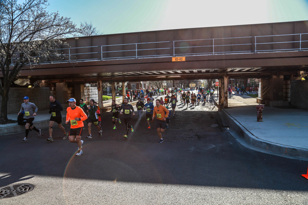 Race Location - Corner of Wilson and Hermitage Avenues<br /> 4550 N Hermitage Ave, Chicago, Illinois