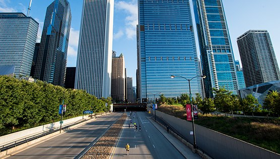 Race Location - Grant Park, Chicago, Illinois