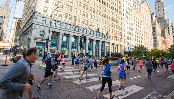 Run Mag Mile<sup>TM</sup> Race Day Runners