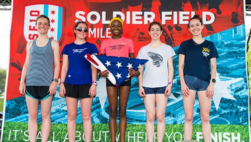 Soldier Field 10 Mile Race Day Finisher