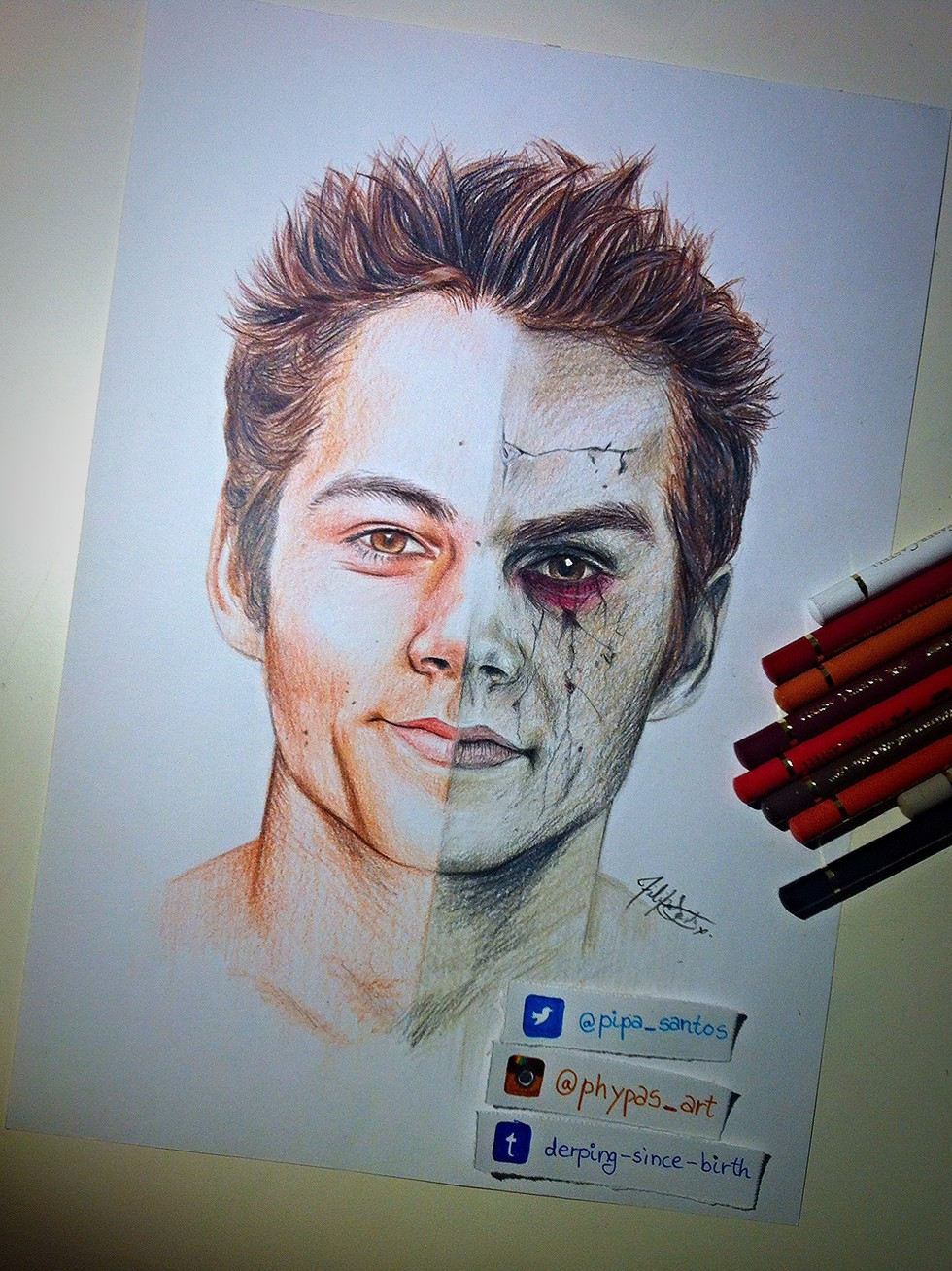 Download image void drawing teen wolf stiles pc android iphone and