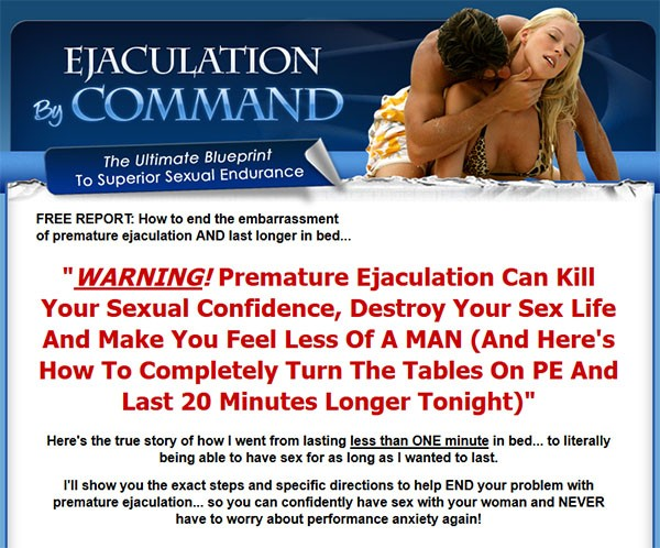How to eliminate premature ejaculation