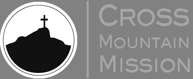 Cross_mountain_mission_logo_side_text_grayoriginal