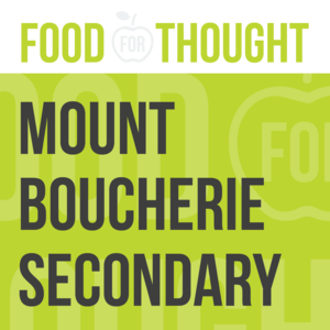 Food for Thought at Mount Boucherie Senior Secondary