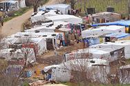 Make shift refugee camp site   bekaa valley   lebanon   world vision photo w3.small