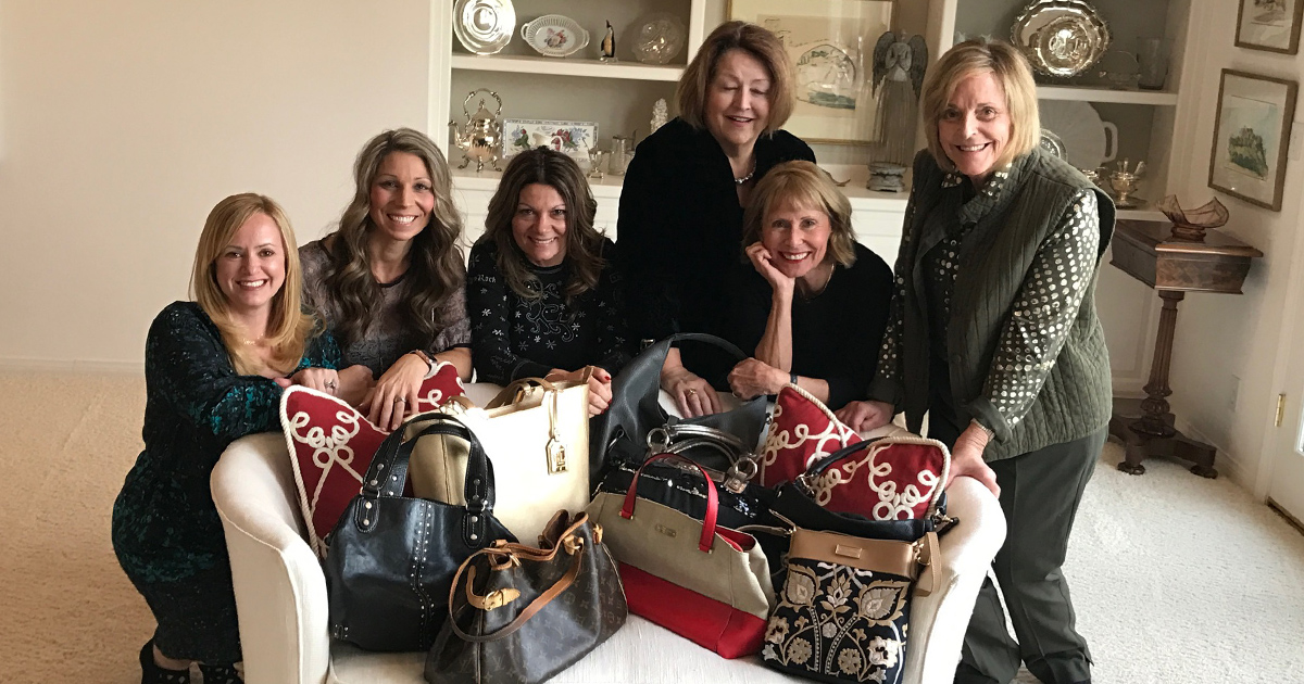 Enjoy an evening of fun with your friends & great purses