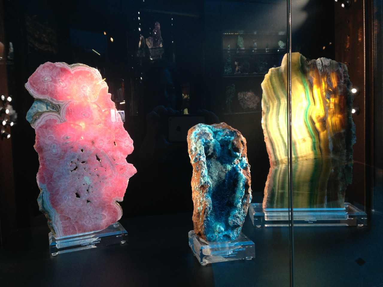 At the Mineralogical Museum