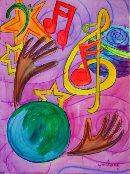 all-the-earth-celebrates-and-worships-prophetic-art-painting