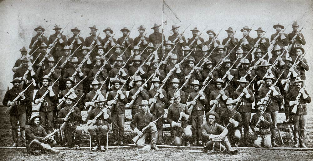 Buffalo Soldiers in the Trenches