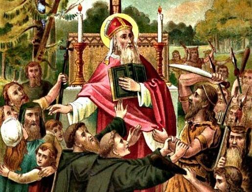 St. Boniface among the Frisians