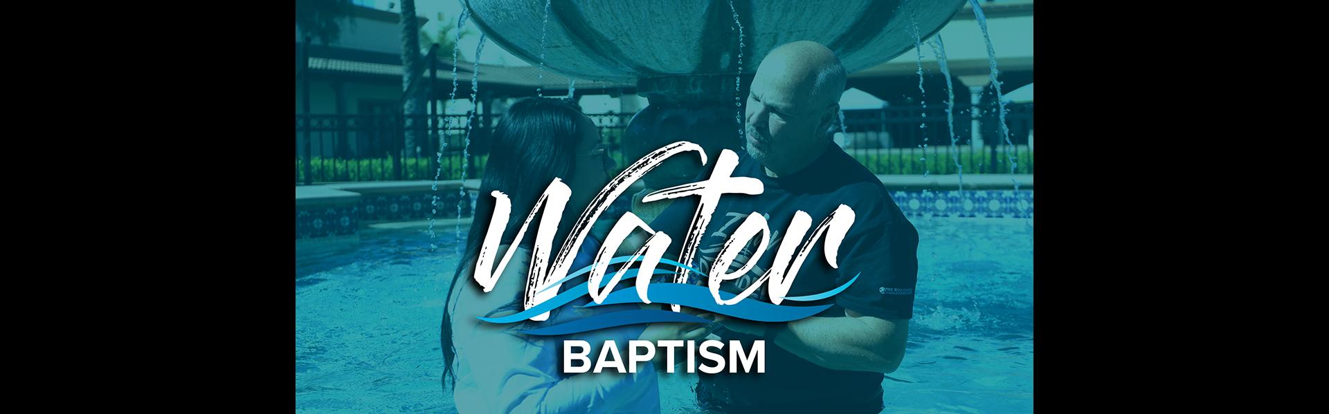 May 2021 Water Baptism