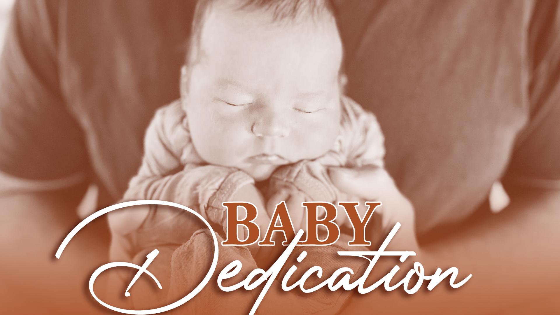 September 2021 Baby Dedication