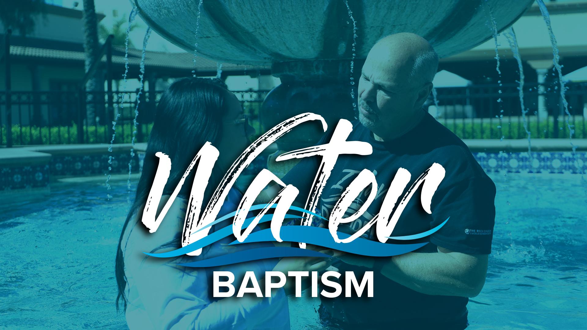 September 2021 Water Baptism