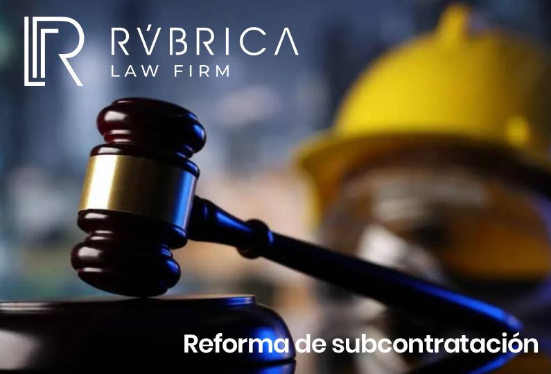 imagen Reforma de Subcontratación