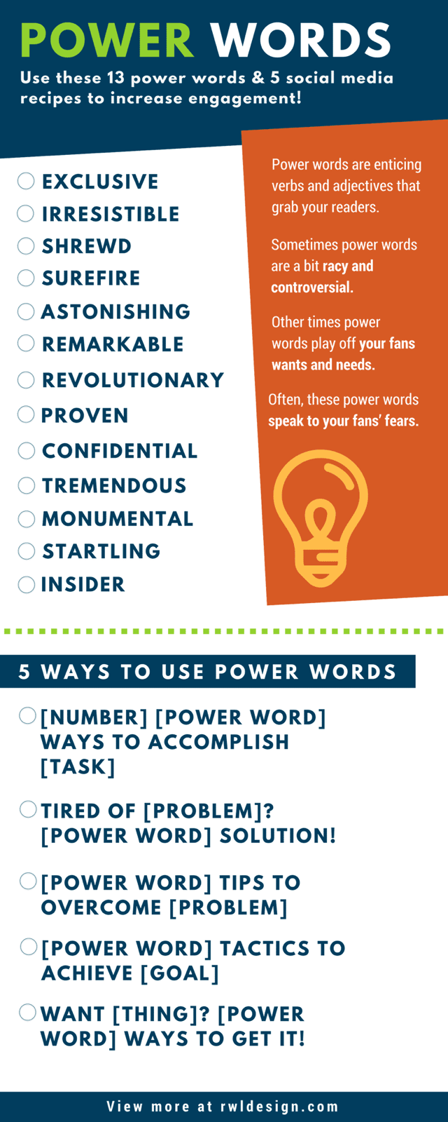 13 Power Words and 5 Ways to Use Them