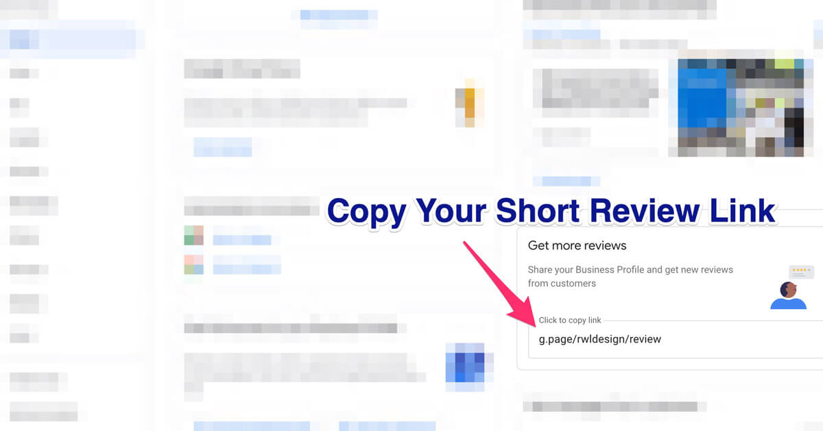 copy your review link