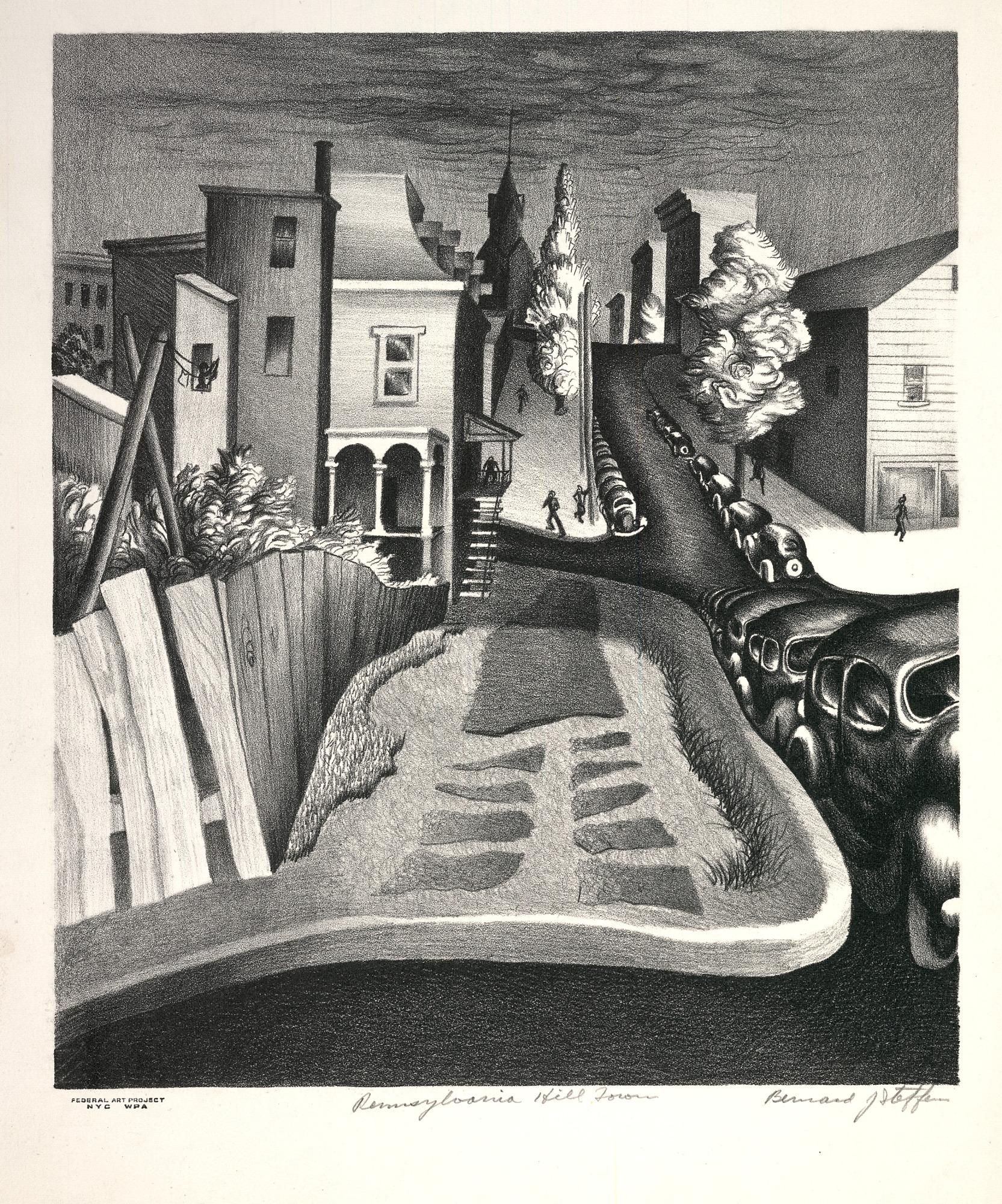 Federal Art Project Pennsylvania