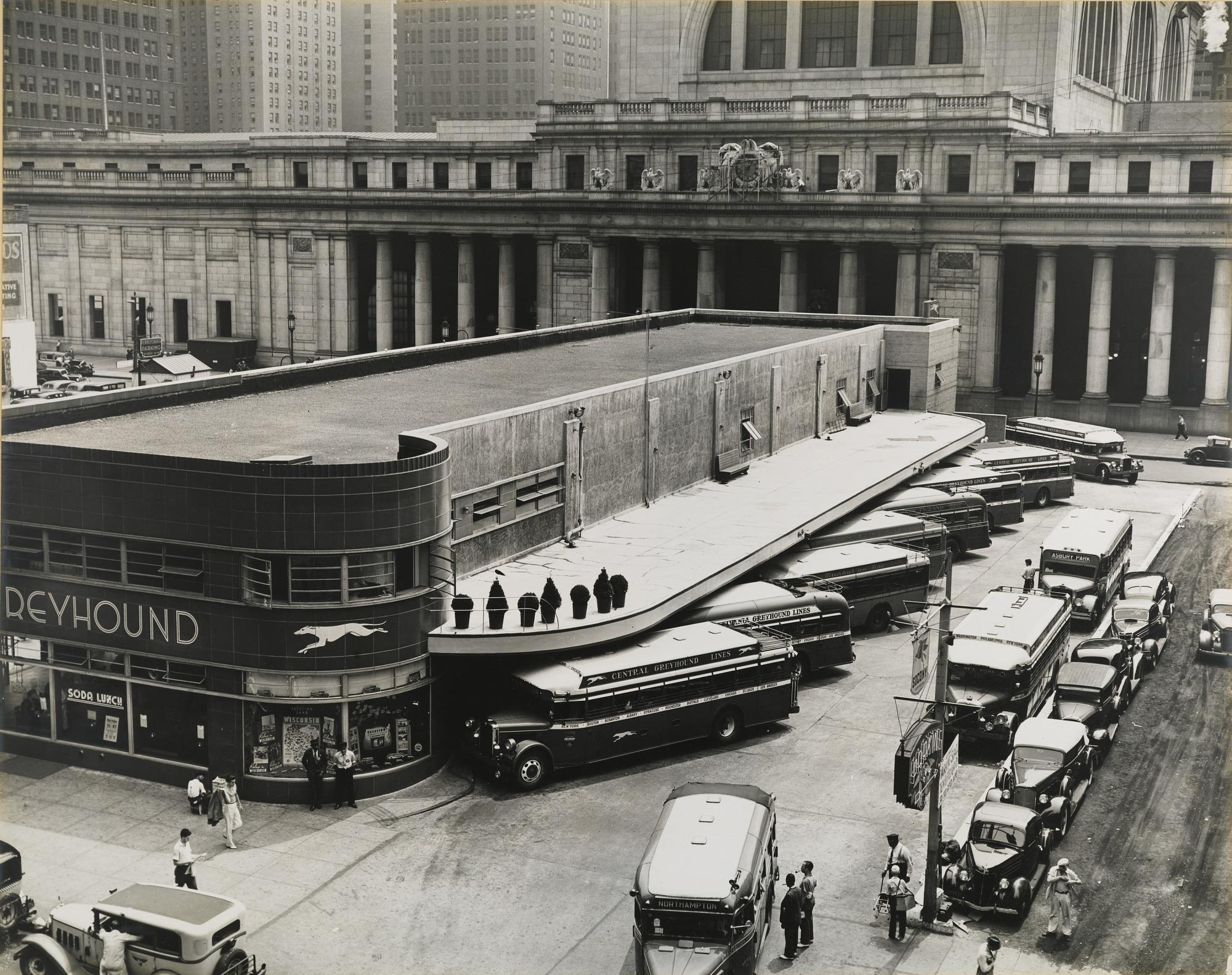 Greyhound Bus Terminal--Manhattan | Smithsonian American Art