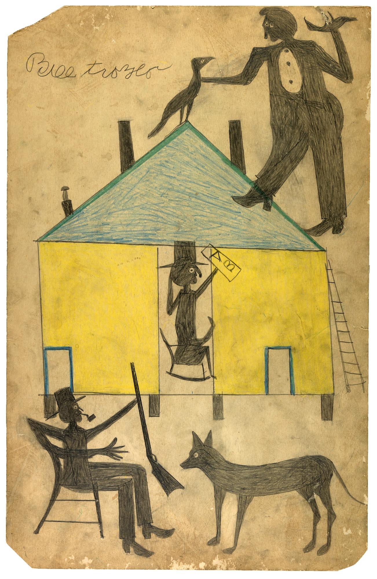 Between Worlds: The Art of Bill Traylor   Smithsonian American Art ...
