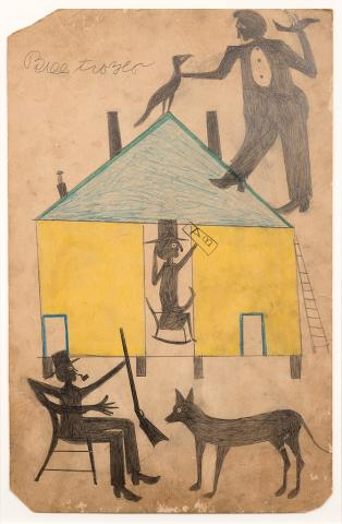Blog Image 233 - SAAM Acquires Six Major Works by Bill Traylor
