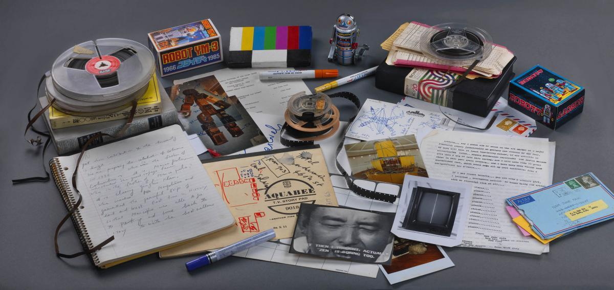 Letters and ephemera from the Nam June Paik Archive