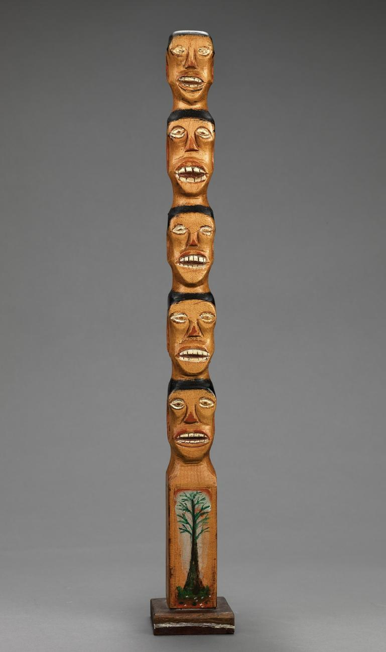 untitled family tree totem smithsonian american art museum