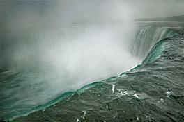 A photograph of Niagara Falls