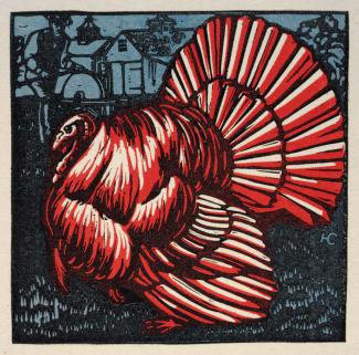Splash Image - A Thanksgiving Gift from Artist Harry Cimino
