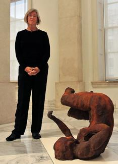 Blog Image 253 - Conservation: Materials and Materiality in Eric Fischl's Tumbling Woman II