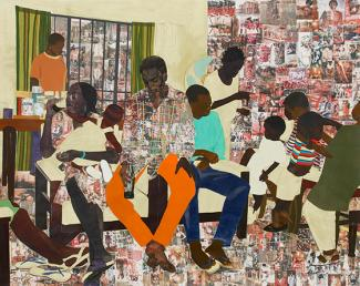 Splash Image - Njideka Akunyili Crosby Wins the 2014 James Dicke Contemporary Artist Award