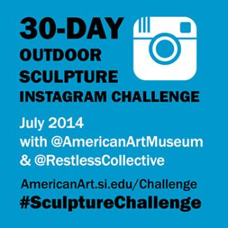 Blog Image 460 - American Art's Summer Instagram Challenge: 30-Days of Outdoor Sculpture