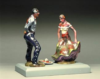 "Splash Image - In This Case: Luis Jiménez's Model for ""Fiesta"""
