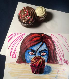 Splash Image - Picture This: A Reason to Draw Cupcakes!