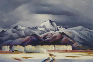 Splash Image - A Sense of Place: New Mexico as Seen by Artist Gene Kloss