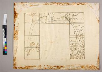 Splash Image - Lunder Conservation Center: Revealing A Drawing Through Preservation