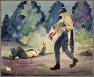 Anseilg Painting Folk Art