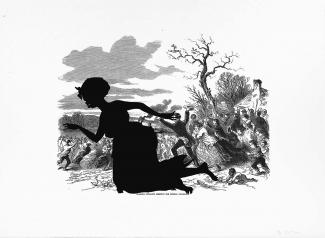 Exhibition - Kara Walker, Alabama Loyalists Greeting the Federal Gun-Boats