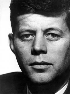 Portrait of JFK